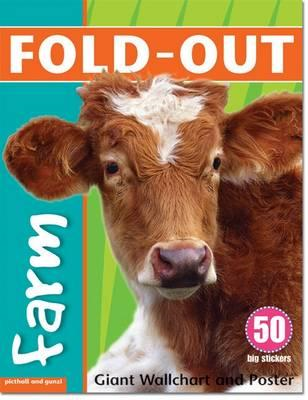 Fold-Out Farm Sticker Book (BOK)
