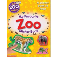 My Favourite Zoo Sticker Book (BOK)