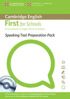 Speaking Test Preparation Pack for First for Schools Paperback with DVD: First Certificate in Englis (BOK)