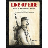 Produktbilde for Line of Fire: Diary of an Unknown Soldier: August, September (BOK)
