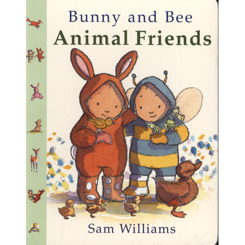 Bunny and Bee Animal Friends (BOK)