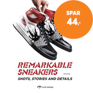 Produktbilde for Remarkable Sneakers - Great Shots and Details (BOK)