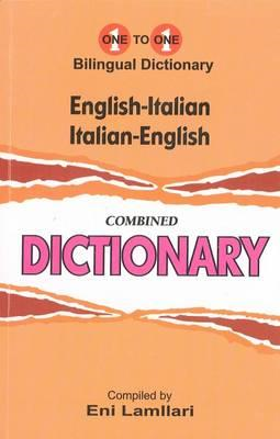 English-Italian & Italian-English One-to-One Dictionary (BOK)