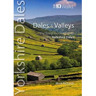 Produktbilde for Dales & Valleys - The Finest Low-Level Walks in the Yorkshire Dales (BOK)