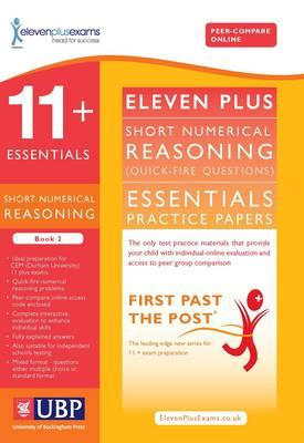 11+ Essentials Short Numerical Reasoning for CEM (BOK)