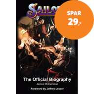 Produktbilde for Sailor: The Official Biography (BOK)