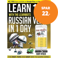 Produktbilde for Learn 101 Russian Verbs in 1 Day (BOK)