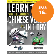 Produktbilde for Learn 101 Chinese Verbs in 1 Day (BOK)
