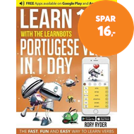 Produktbilde for Learn 101 Portuguese Verbs In 1 day (BOK)