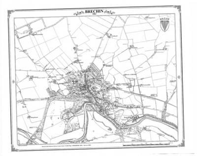 Brechin 1862 Heritage Cartography Victorian Town Map (BOK)