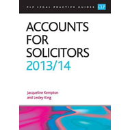 Accounts for Solicitors: 2013/2014 (BOK)