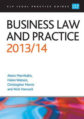 Business Law and Practice: 2013/2014 (BOK)