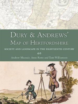 Dury and Andrews' Map of Hertfordshire (BOK)