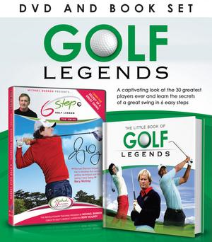 Golf Legends DVD/Book Gift Set (BOK)