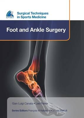 EFOST Surgical Techniques in Sports Medicine - Foot and Ankl (BOK)