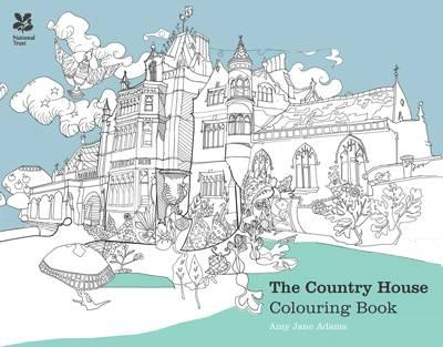 Country House Colouring Book (BOK)