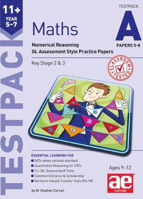 11+ Maths Year 5-7 Testpack A Papers 5-8 (BOK)