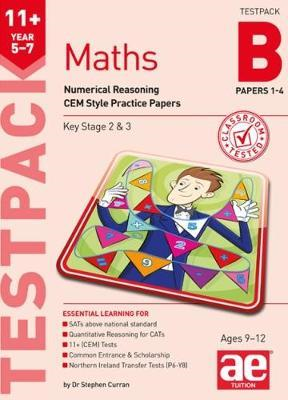 11+ Maths Year 5-7 Testpack B Papers 1-4 (BOK)