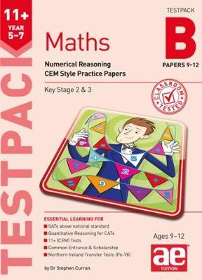 11+ Maths Year 5-7 Testpack B Papers 9-12 (BOK)