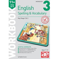 11+ Spelling and Vocabulary Workbook 3 (BOK)