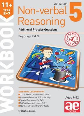 11+ Non-Verbal Reasoning Year 5-7 Workbook 5 (BOK)