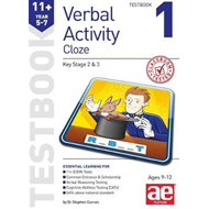 11+ Verbal Activity Year 5-7 Cloze Testbook 1 (BOK)