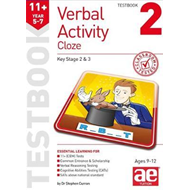 11+ Verbal Activity Year 5-7 Cloze Testbook 2 (BOK)