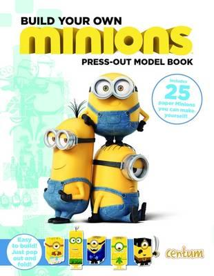 Build Your Own Minions Press-Out Model Book (BOK)