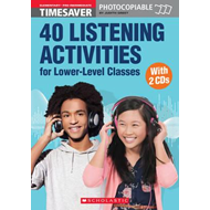 40 Listening Activities for Lower-Level Classes - Book with (BOK)