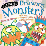 Drawing Monsters (BOK)