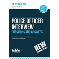Produktbilde for Police Officer Interview Questions and Answers (New Core Com (BOK)
