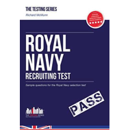 Produktbilde for Royal Navy Recruit Test: Sample Test Questions for the Royal (BOK)