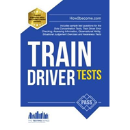 Produktbilde for Train Driver Tests: The Ultimate Guide for Passing the New T (BOK)