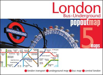 London Bus and Underground PopOut Map (BOK)