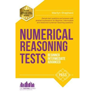 Produktbilde for Numerical Reasoning Tests: Sample Beginner, Intermediate and (BOK)
