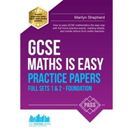 Produktbilde for GCSE Maths is Easy: Practice Papers Foundation Sets 1 & 2 (BOK)