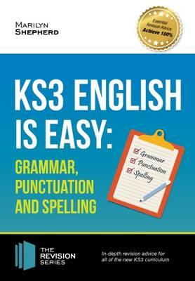 KS3: English is Easy - Grammar, Punctuation and Spelling. Co (BOK)