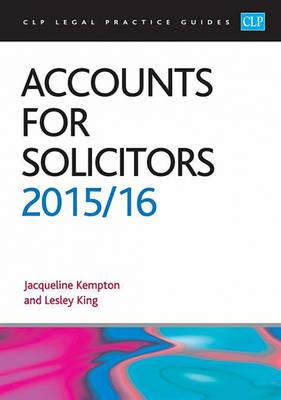Accounts for Solicitors (BOK)