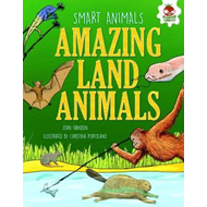 Smart Animals - Amazing Land Animals (BOK)