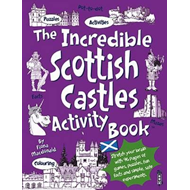 Produktbilde for The Incredible Scottish Castles Activity Book (BOK)