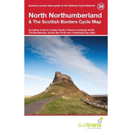 Produktbilde for North Northumberland & the Scottish Borders Cycle Map 39 - Including Coast & Castles South, Pennine (BOK)
