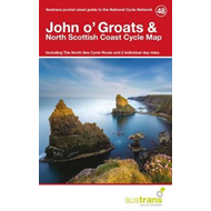 John O'groats & North Scottish Coast Cycle Map 48 (BOK)