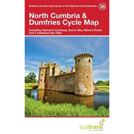 North Cumbria & Dumfries Cycle Map 35 (BOK)