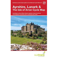 Ayrshire, Lanark & the Isle of Arran Cycle Map 37 (BOK)