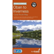 Oban to Inverness Cycle Route Map (BOK)