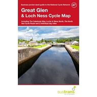 Produktbilde for Great Glen & Loch Ness Cycle Map 47 - Including the Caledonia Way, Lochs & Glens North, the North Se (BOK)