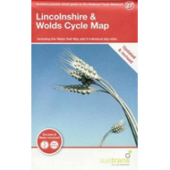 Produktbilde for Lincolnshire & Wolds Cycle - Including the Water Rail Way and 5 Individual Rides (BOK)
