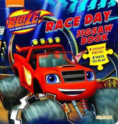 Blaze Race Day Jigsaw Book (BOK)