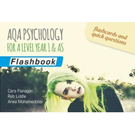 AQA Psychology for A Level Year 1 & AS: Flashbook (BOK)