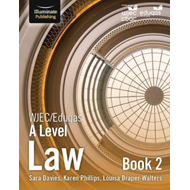 WJEC/Eduqas Law for A Level: Book 2 (BOK)